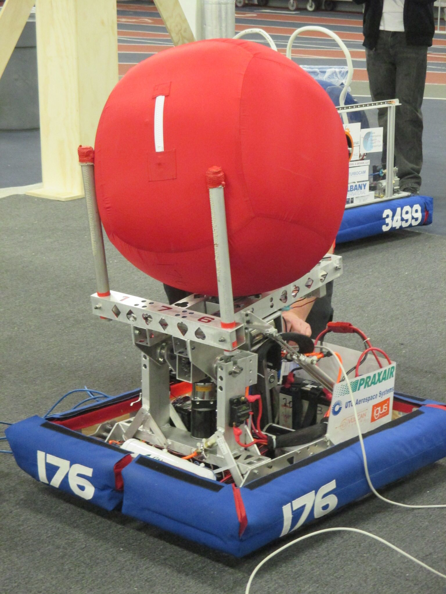 Introducing Ms Stacy. Aces High 176 2014 robot.