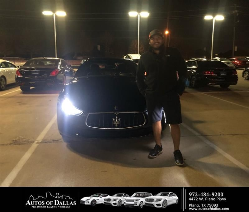 Happy Anniversary To Joshua On Your Maserati Ghibli From Omay Bosch At Autos Of Dallas Anniversary Autosofdallas Car Dealership Happy Anniversary Auto