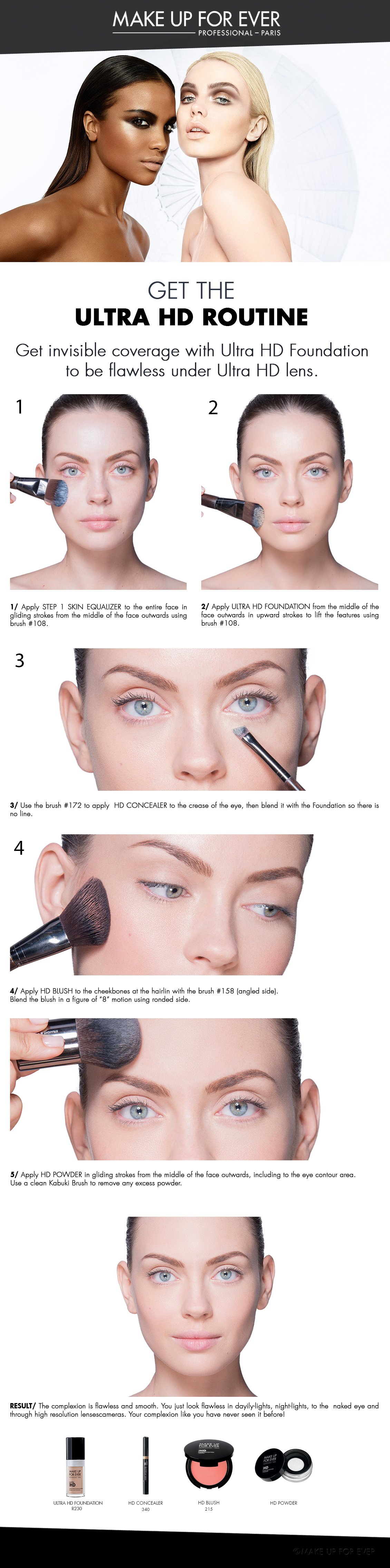 Get the Ultra HD Routine with this Step by Step Tutorial  Makeup