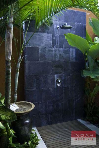 bali outdoor shower | Outdoor bathrooms, Outdoor shower ...