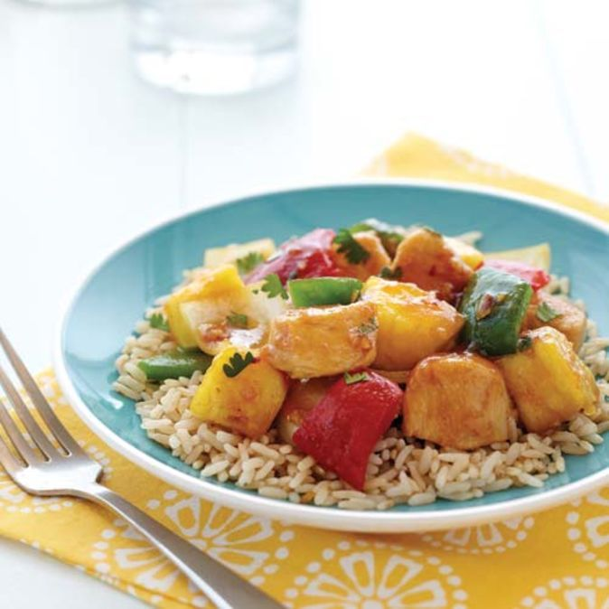 Sweet and Sour Chicken | Clean Eating