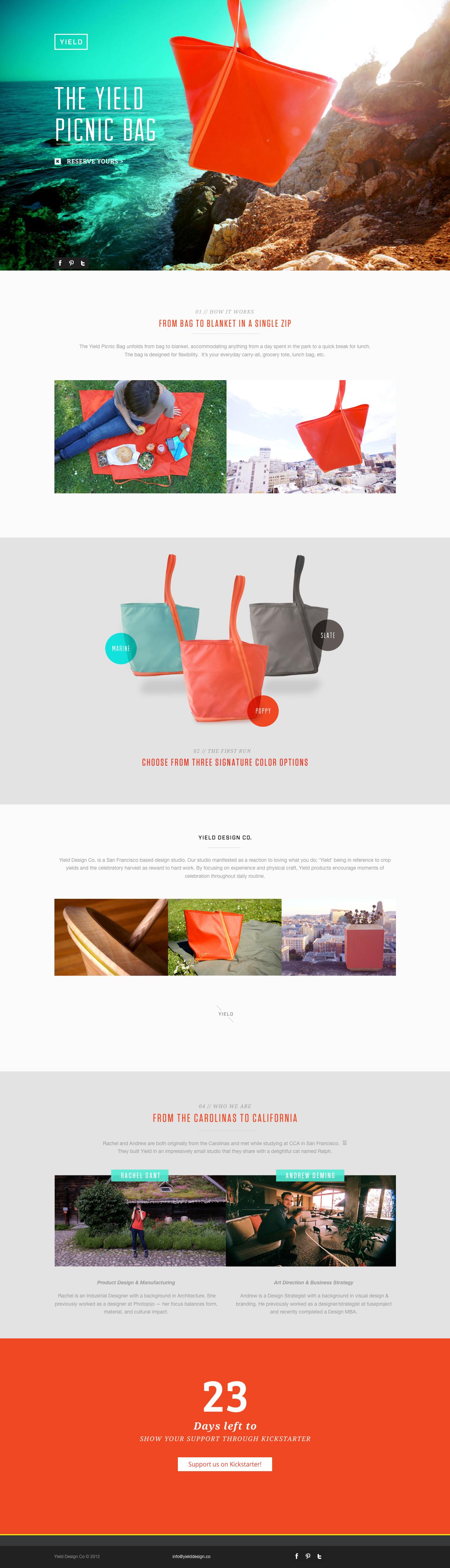 Yield Design website