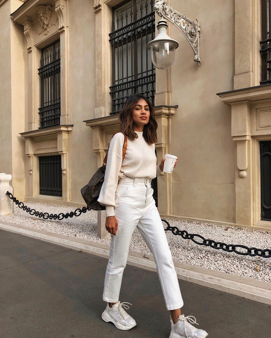 "Photo of Sonia Dhillon på Instagram: ""Cream Overdose @revolve #revolve"""