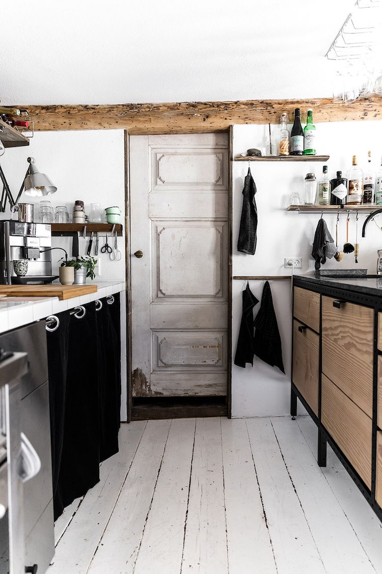 My Scandinavian Home A Rustic Danish Kitchen With Cool Industrial Touches In 2020 Home Remodeling Home Decor Kitchen Interior