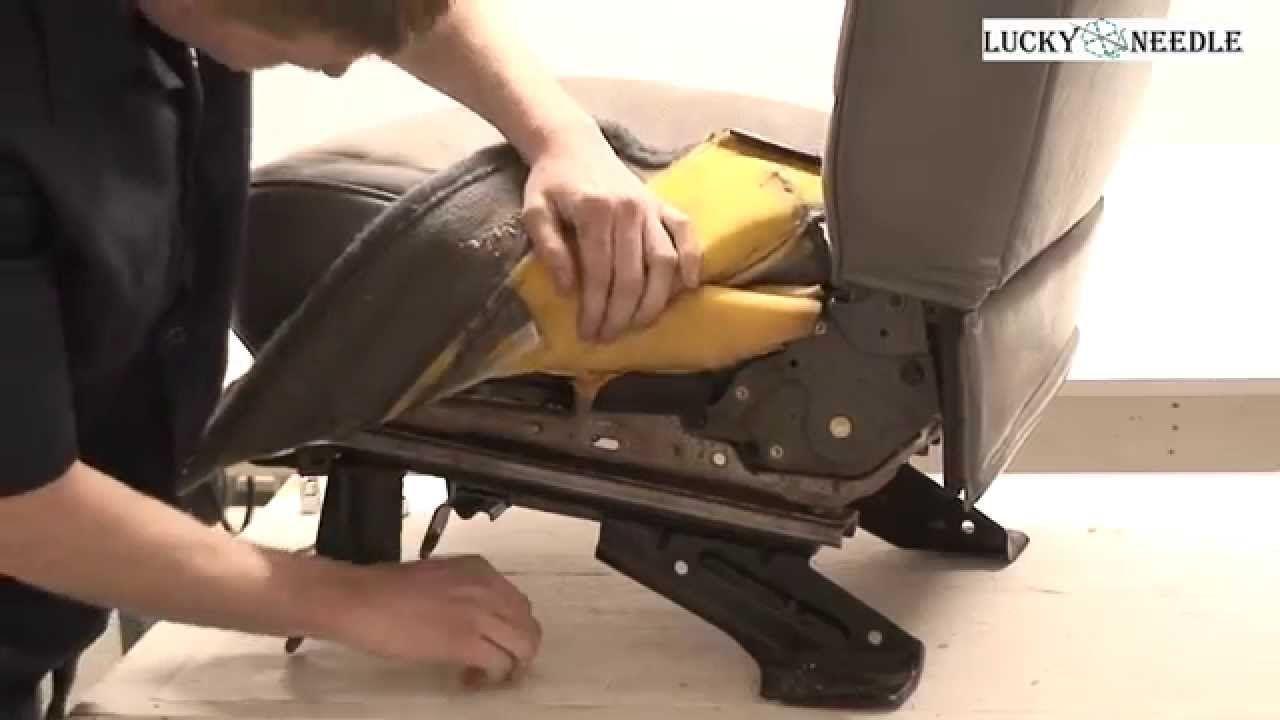 Automotive Seat Repair Part 1 - Automotive Upholstery - The