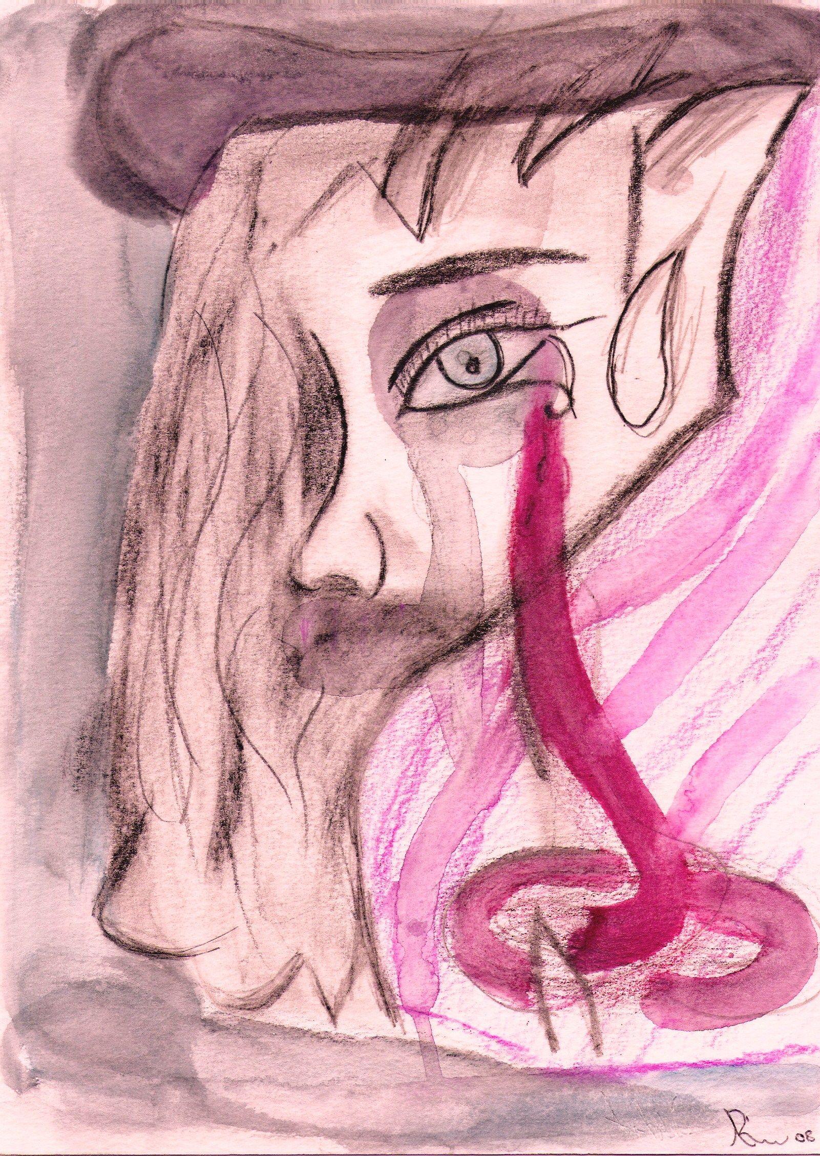 Sou a intensa tinta