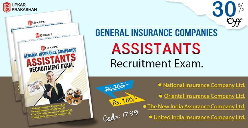 Generalinsurancecompanies Assistantsrecruitmentexam Onlinebooks
