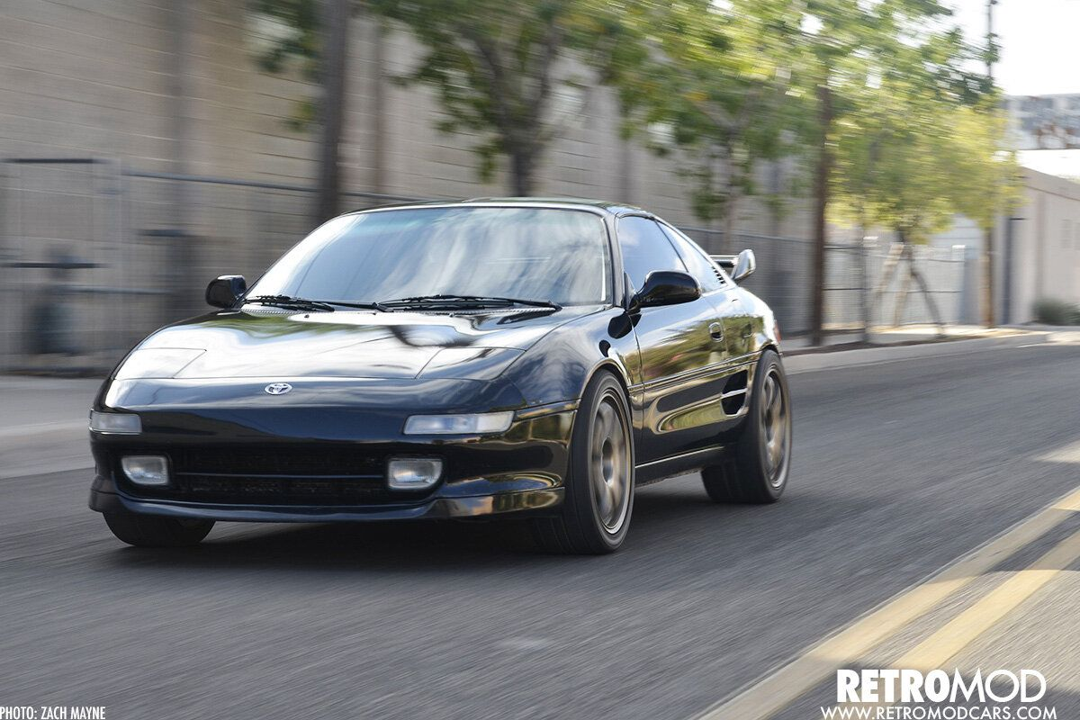 Toy Car Second Gen Mr2 Boasts Supercharged V6 Power Retromod In 2020 Camry V6 Toyota Mr2 Camry