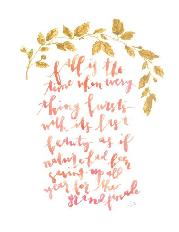 Autumn Quotes Fall