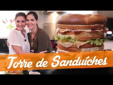 Carol Fiorentino Ensina A Fazer Uma Torre De Sanduiches Do Bake