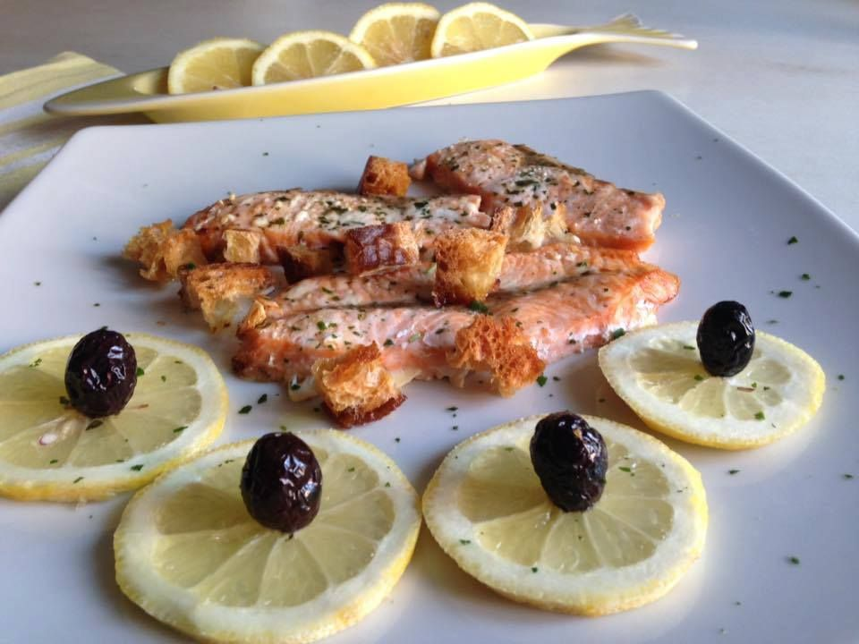 Filetti di Salmone al forno   Cucina di Pesce   Pinterest   Cucina