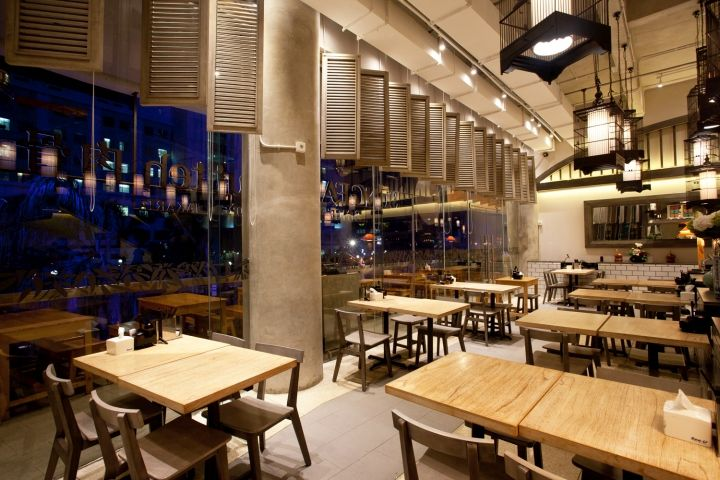 SongFa Bakut Teh Restaurant By Metaphor Interior At Pantai Indah Kapuk Jakarta Indonesia