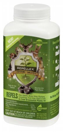 Repellex 20001 50 Count Systemic Animal Repellent By 17 37 Since The Is Internally Treating Plant It Will Not Wash Off In