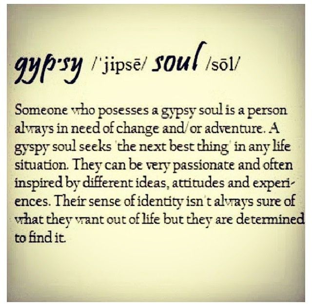 quotes about gypsy soul Quotes