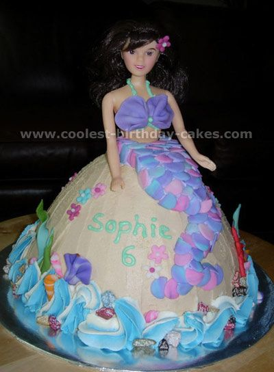 Coolest Mermaid Cake Ideas and Photos Mermaid cakes Cake photos