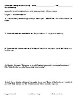 also Lord of The Flies Character profile worksheet by foggers27 in addition Lord Of The Flies Journaling Worksheet printable pdf download besides Lord of the Flies Chapter One Worksheet   Preview additionally Connectives Worksheet Preview Using Survival English Worksheets Pdf in addition Lord of the Flies Reading Guide Worksheet for 7th   8th Grade also  also Fillable Online Worksheet 6 Theme Ideas from Lord of the Flies Fax together with FREE Lord of the Flies by William Golding Chapter 5 Guided Reading also  as well LORD OF THE FLIES Figurative Language yzer by Created for Learning besides  furthermore English worksheets  Lord of the Flies besides Figurative Language Worksheet   Lord of the Flies   Answers additionally Lord of the Flies Revision  Character Profile Worksheets by in addition Worksheet Preview by Leah Griffin Blended Worksheets   Wizer me. on lord of the flies worksheets