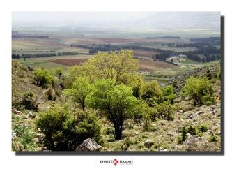 LEBANON, WEST BEKAA, BEAUTIFUL VIEW FROM AMMIQ