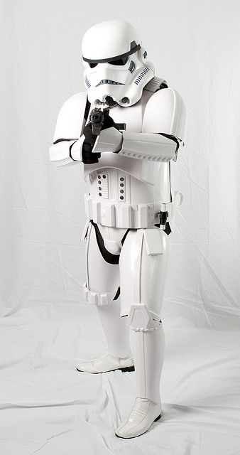 Me in my Stormtrooper TK armor for the 501st Legion. Photography by Paul Cory.