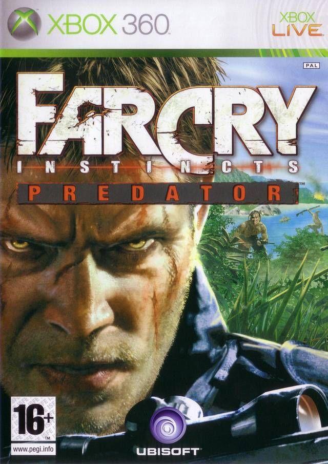 Far Cry Instincts Predator Box Shot For Xbox 360 Gamefaqs Xbox 360 Games Xbox Xbox 360