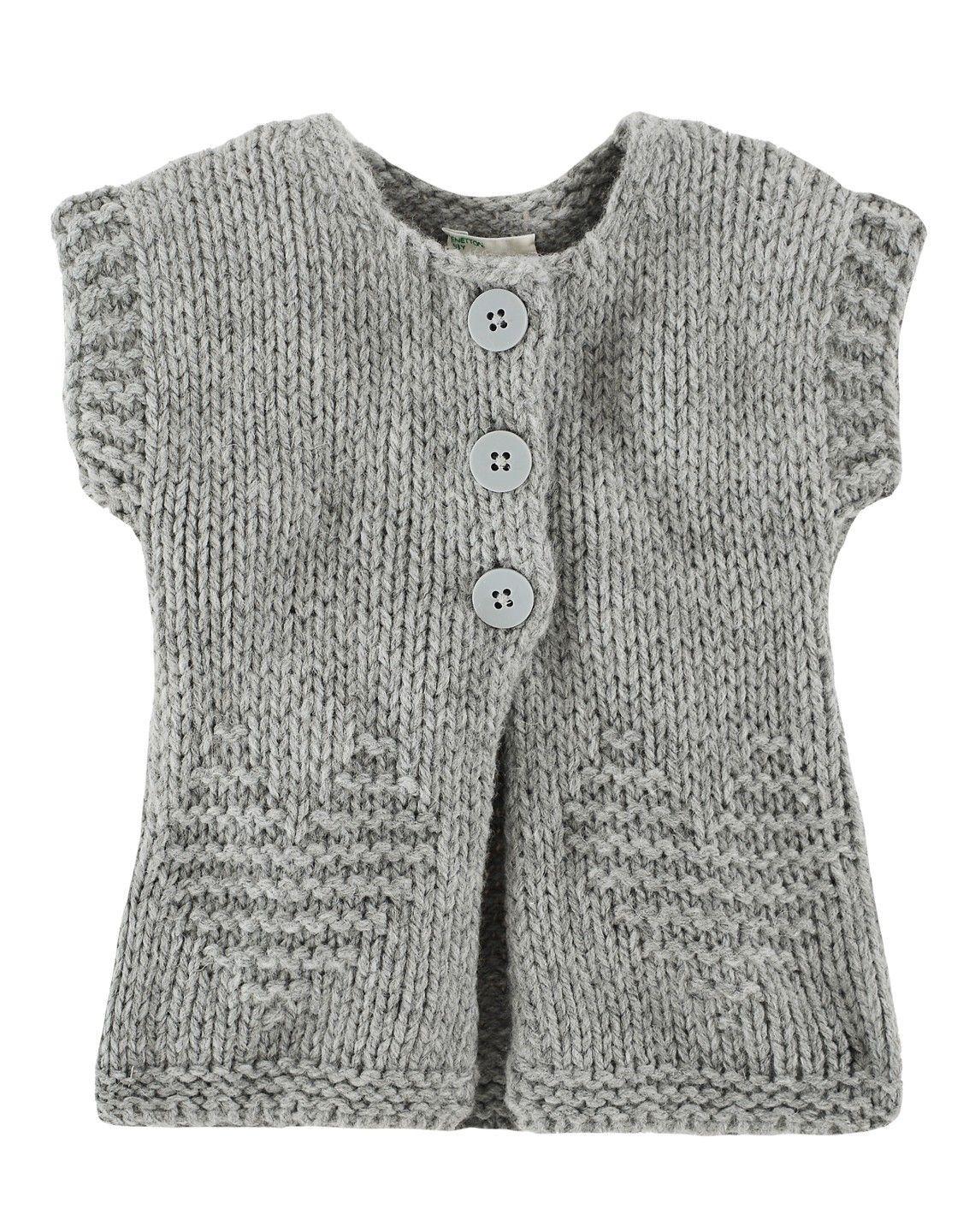 Kinder Weste Cardigan United Colors Of Benetton Galeri Stricken