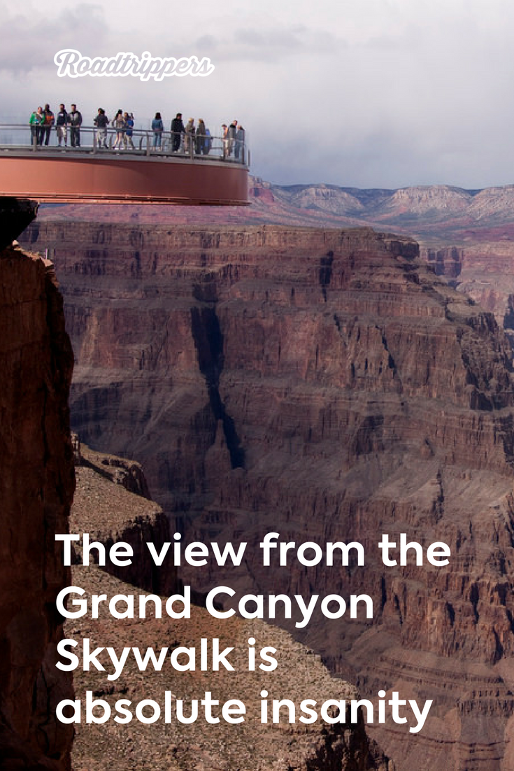 The View From The Grand Canyon Skywalk S 4 000 Ft High Glass Bridge Is Absolute I Trip To Grand Canyon Grand Canyon Arizona Vacation Grand Canyon National Park