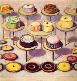 Pop Art Cake Paintings
