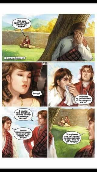 The Wedding The Exile Outlander Diana Gabaldon Poster