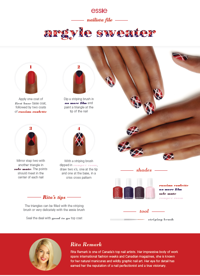 Pin by Pipa Pipe on NAIL TUTORIAL | ESSIE | Pinterest | Nail nail