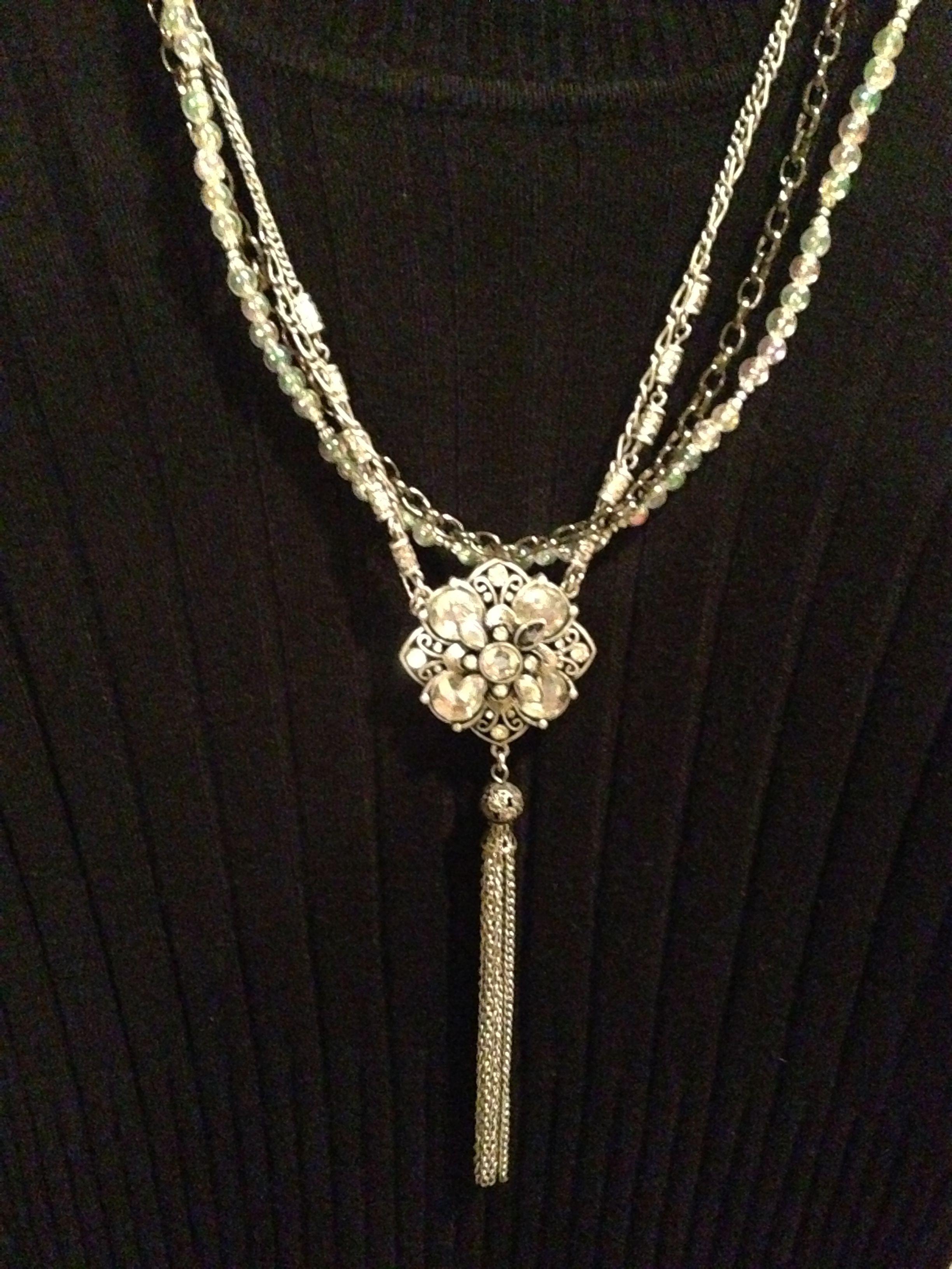 Pendant necklace project.
