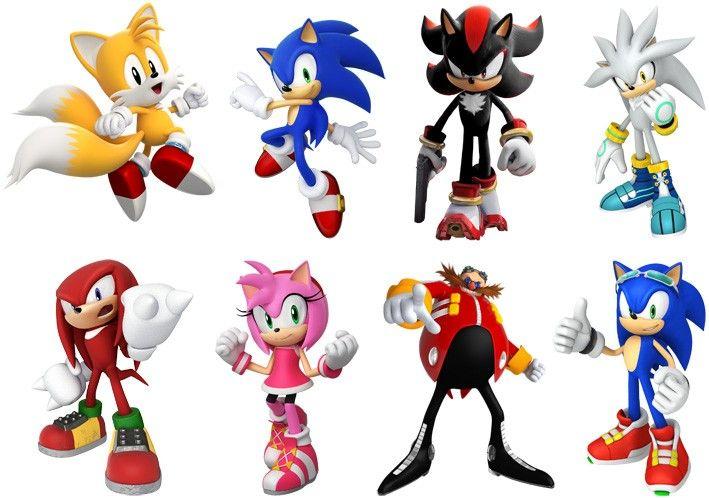 Sonic The Hedgehog Characters Google Search Festas De