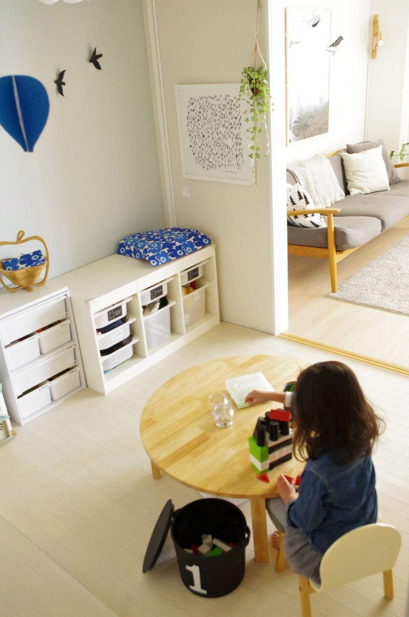 7343d69de3 子供部屋をおしゃれにスッキリ。マネしたくなるブロガーさんの収納術 in ...