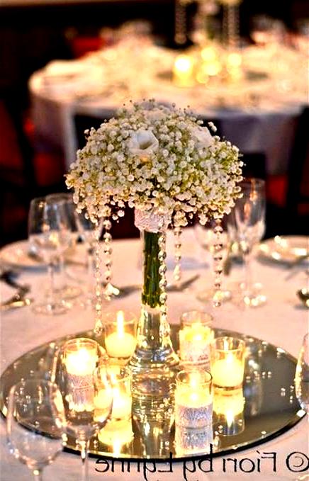 Trendy Wedding Decoracion Elegant Table Center Pieces Ideas Wedding In 2020 Wedding Reception Table Decorations Wedding Reception Tables Mirror Wedding Centerpieces