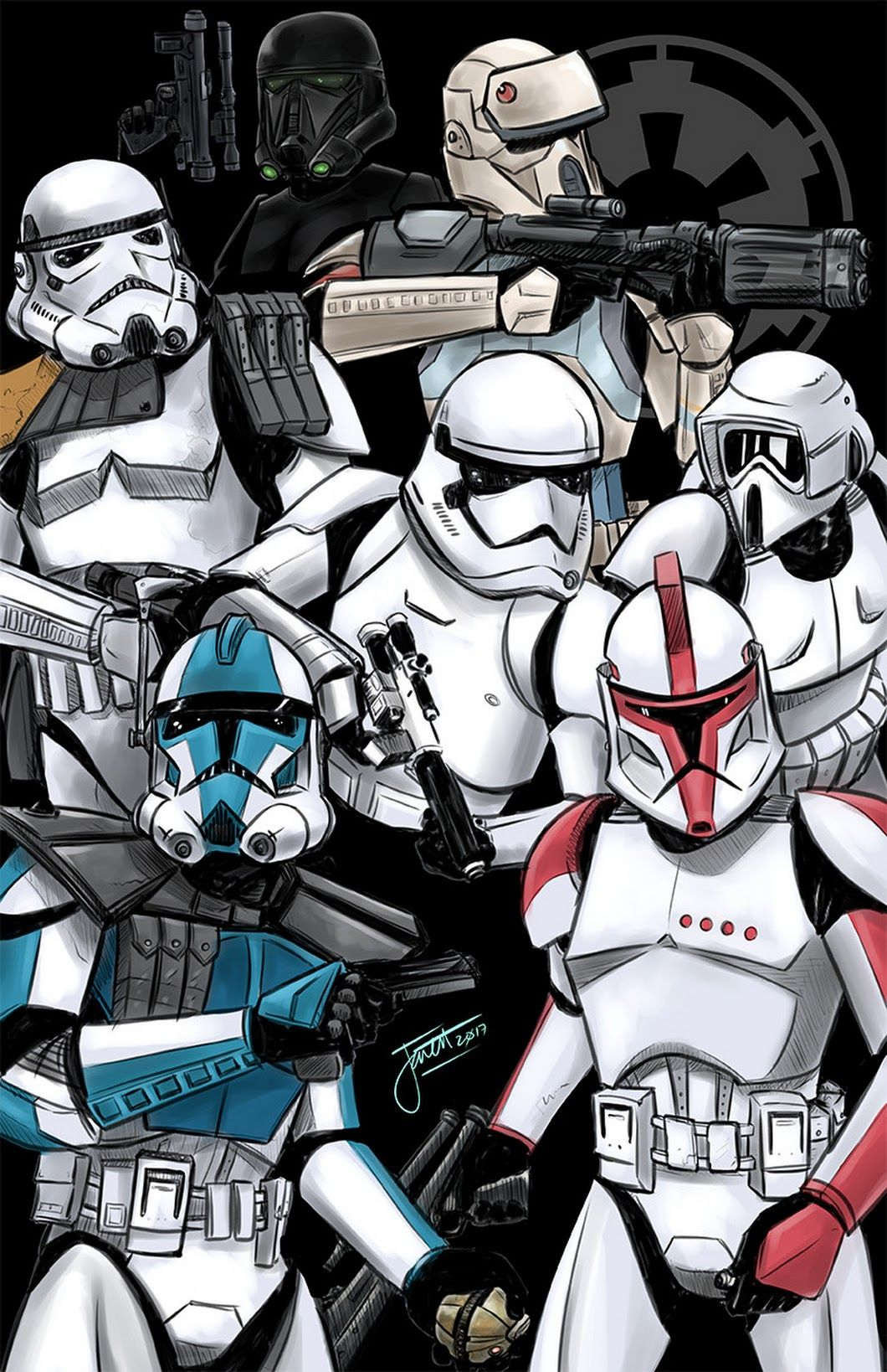 Troopers Art By Jarret Walen Goo Gl Yhlysc