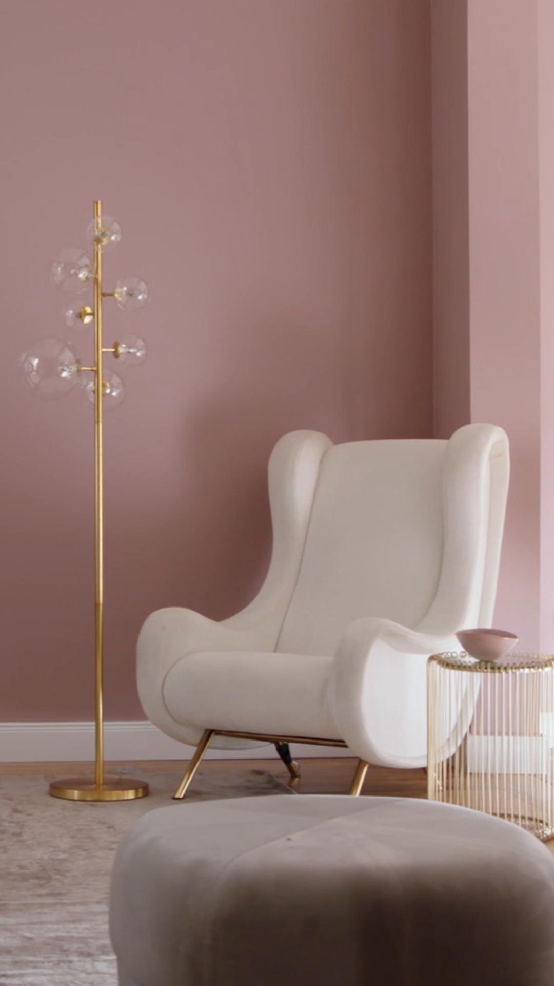 Modernes Interior mit den Alpina Feine Farben | Melodie der Anmut