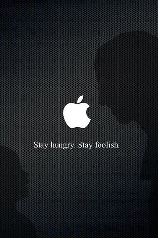 stay hungry stay foolish iphone 4s wallpaper apple fever iphone