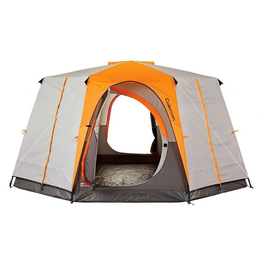 Coleman Tent Octagon 98 Full Rainfly Signature 187426 For Sale Online Ebay Best Tents For Camping Family Tent Camping Coleman Tent