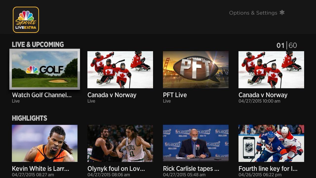 NBC Sports App Free live streaming, Nbc, Sports app