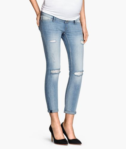 9da3c38ba6f15 MAMA Skinny Ankle Jeans | Product Detail | H&M | Style for two ...