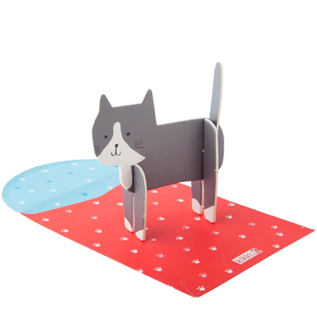 This super cute and unique greeting card is the perfect way to let