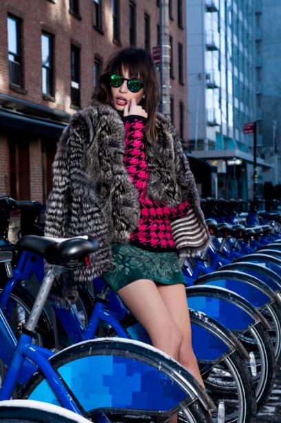 Lookbook Winter 14 - Deep in Style com Kenza Fourati.