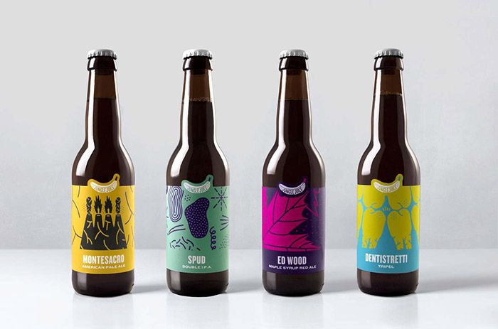 Jungle Juice Brewing - Daily Package Design InspirationDaily Package Design Inspiration |
