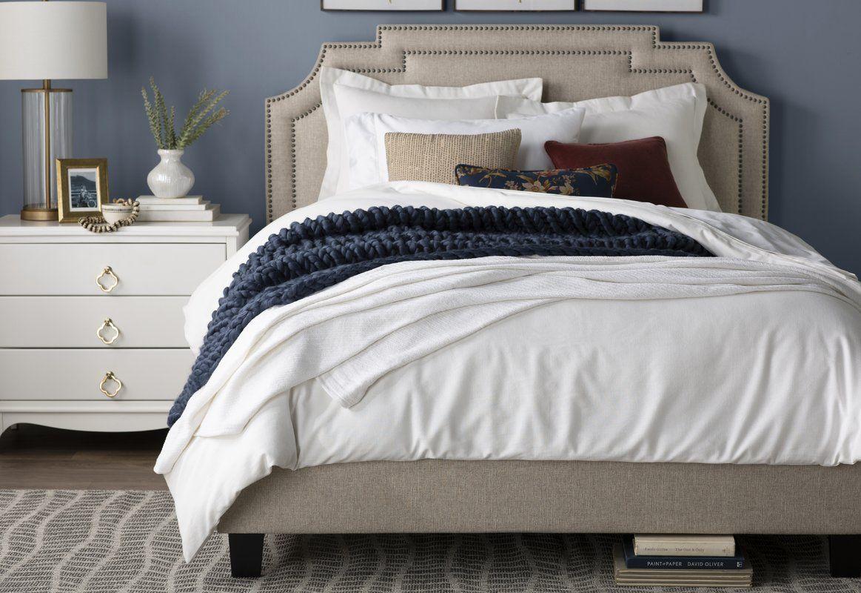 Galway Upholstered Standard Bed Panel bed, Upholstered