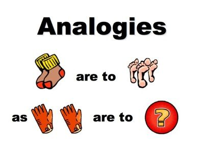 Analogy Definition A Comparison Between Two Things Typically On
