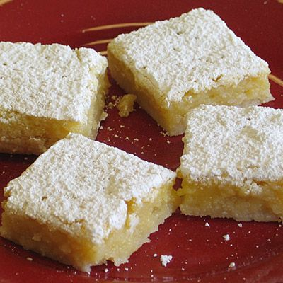 Gluten free lemon bars and because I can't leave good enough alone Im adding lemon zest to the crust too!