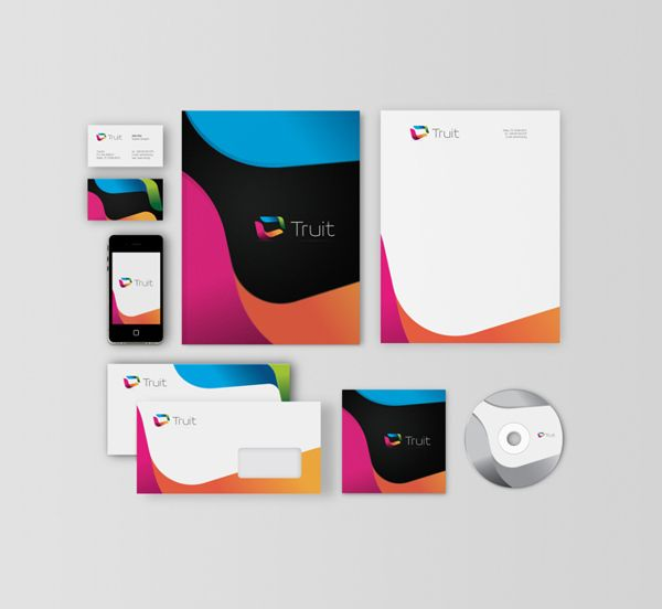 Truit Idenity Design by Nikolay Boyanov, via Behance