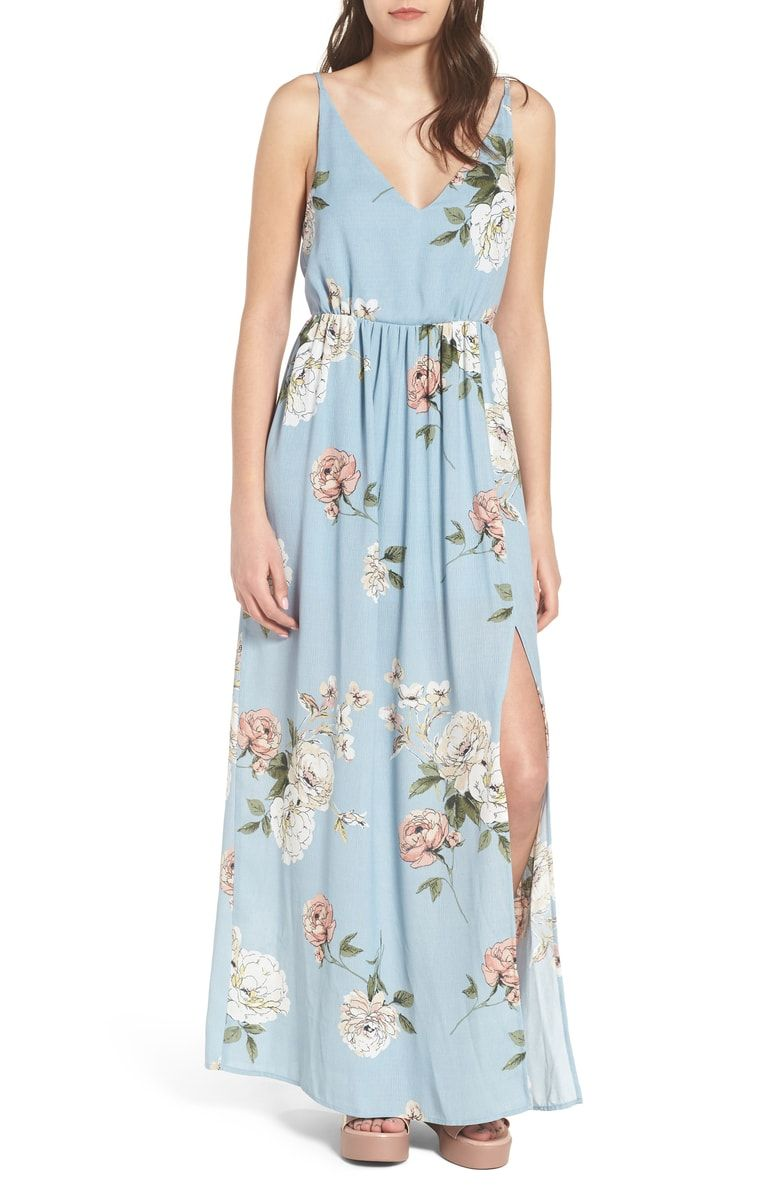 Floral Print Maxi Dress at Nordstrom.com. Update your dress wardrobe for  spring with a breezy maxi dress patterned in a lovely floral print. dd33ab926e4