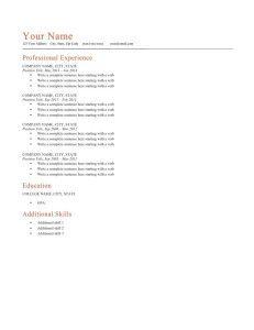 Free Resume Builder Free Resume Template Download Simple Resume
