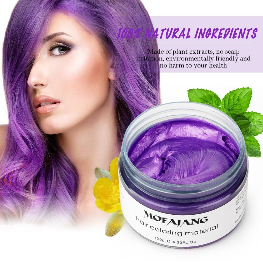 Get an instant color upgrade with our color hair wax! Your