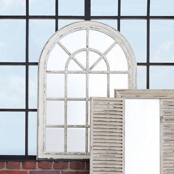 Heligan Arched Window Wall Mirror Mirror Design Wall Lighted Wall Mirror Framed Mirror Wall
