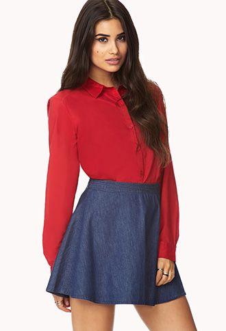 Classic Dress Shirt | FOREVER 21 - 2061359099